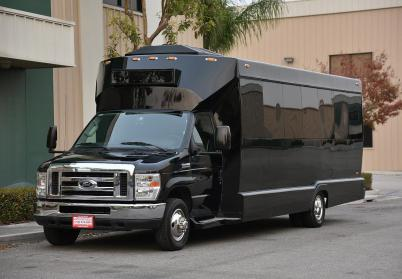 Las Vegas 18 Passenger Party Bus